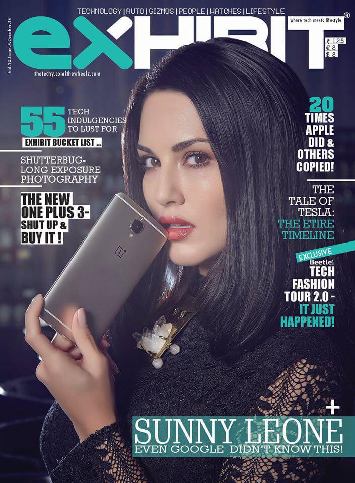 Sunny Leone - EXHIBIT Magazine