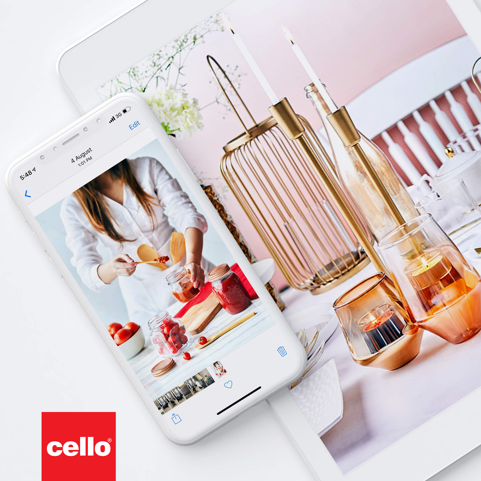 Cello – Glassware