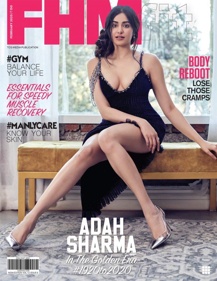 Adah Sharma - FHM Magazine